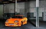 Обои: Toyota Supra, тачка, тюнинг, гараж, наклейки, форсаж, fast and the furious, tuning, диски