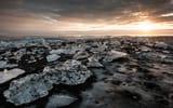 Обои: море, пейзаж, лёд