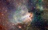 Обои: туманность, Лебедь, Стрелец, звезды, созвездие, Омега