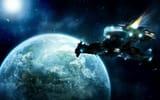 Фотостатусы для контакта: Unaware, кометы, космический корабль, markpaulk, космос, земля, art, звёзды, планета, SC2