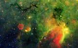 Фотостатусы для контакта: космос, газ, туманность, зеленое