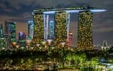 Обои: Singapore, Garden and the Sand, город