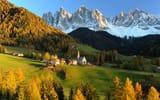 Обои: Швейцария, hills, горы, Альпы, дом в горах, Switzerland, landscape, Apls