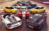 Обои: BMW M4, Volkswagen Golf, Jaguar F-Type, McLaren P1, Supercars, Top Gear, Porsche 918, Chevrolet Corvette C7, Stig, Wallpaper