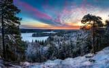 Обои: Hämeenlinna, красота, Finland, зима, мороз